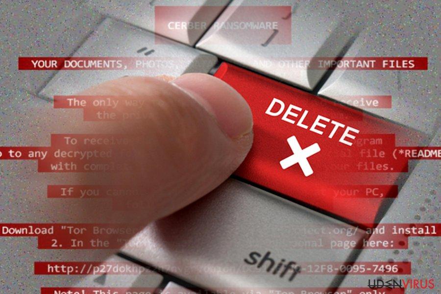 Sådan fjernes ransomware