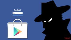 Facebook-data-stjælende malware opdaget i Google Play Butik