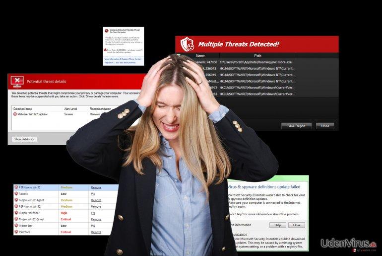 Hvad gør man, når Antispyware program ikke formår at fjerne en infektion?