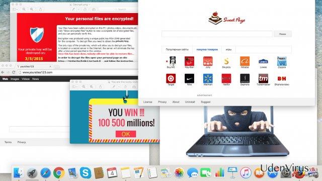 Cybertrusler du bør holde øje med i år: adware, browser hijackers og ransomware virus snapshot