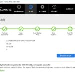 Malwarebytes Anti Malware snapshot
