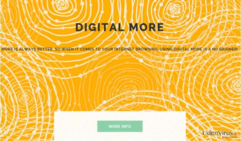 Annoncer fra Digital More snapshot