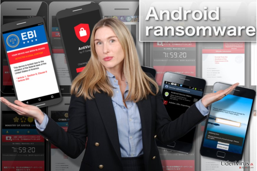 Android ransomware snapshot