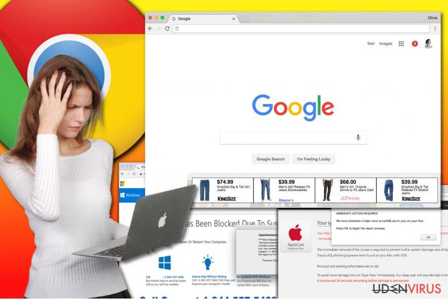 Chrome adware virus