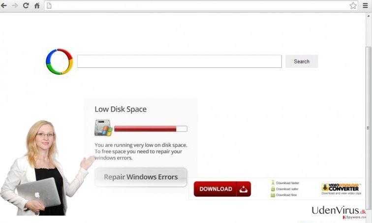 Chrome omdirigeringsvirus