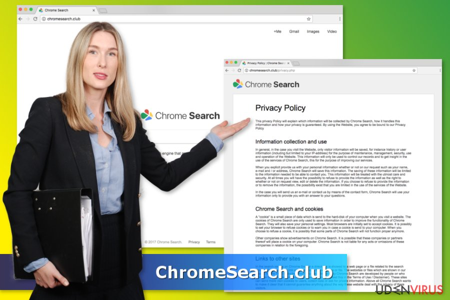 ChromeSearch.club virus