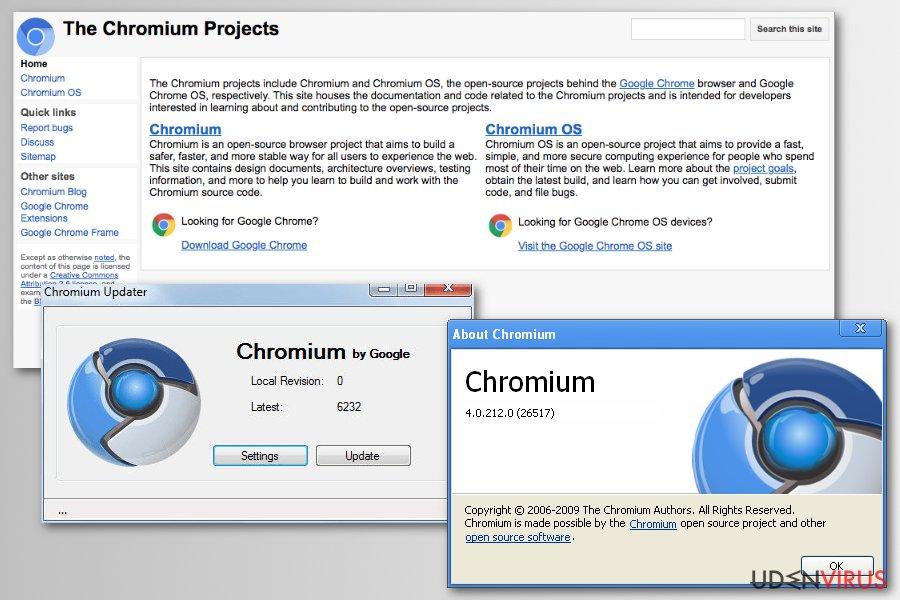 Chromium projekt