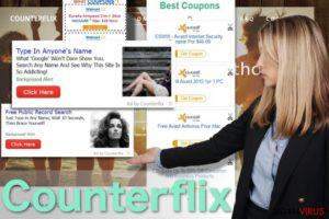 Counterflix annoncer