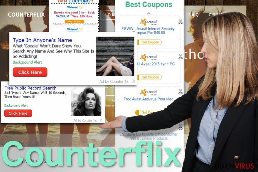 Billede af Counterflix annoncerne