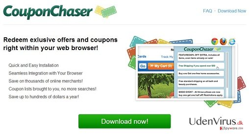 Coupon Chaser virus snapshot