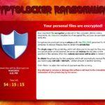 Cryptolocker snapshot