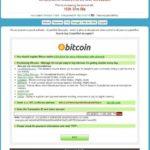 CryptoWall virus snapshot