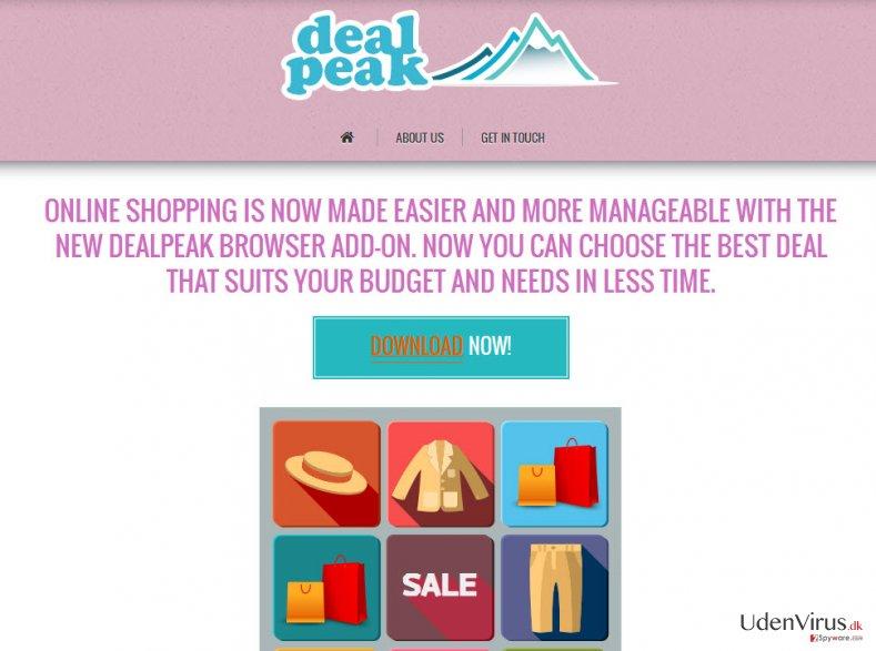 DealPeak annoncer snapshot