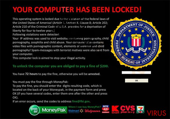 Your computer has been locked snapshot