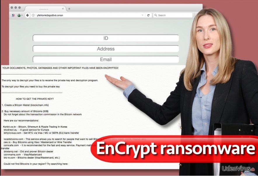 EnCrypt ransomware virus