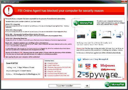 FBI Online Agent snapshot