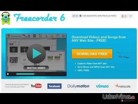 Freecorder snapshot