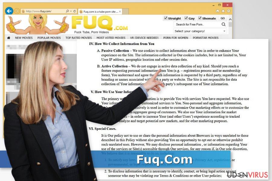 Fuq.Com virus snapshot