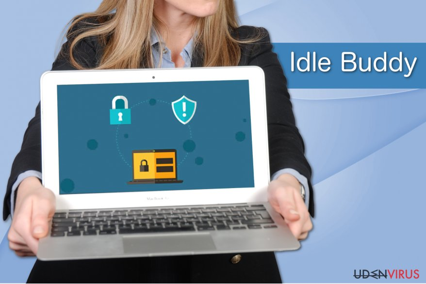 Idle Buddy virus eksempel