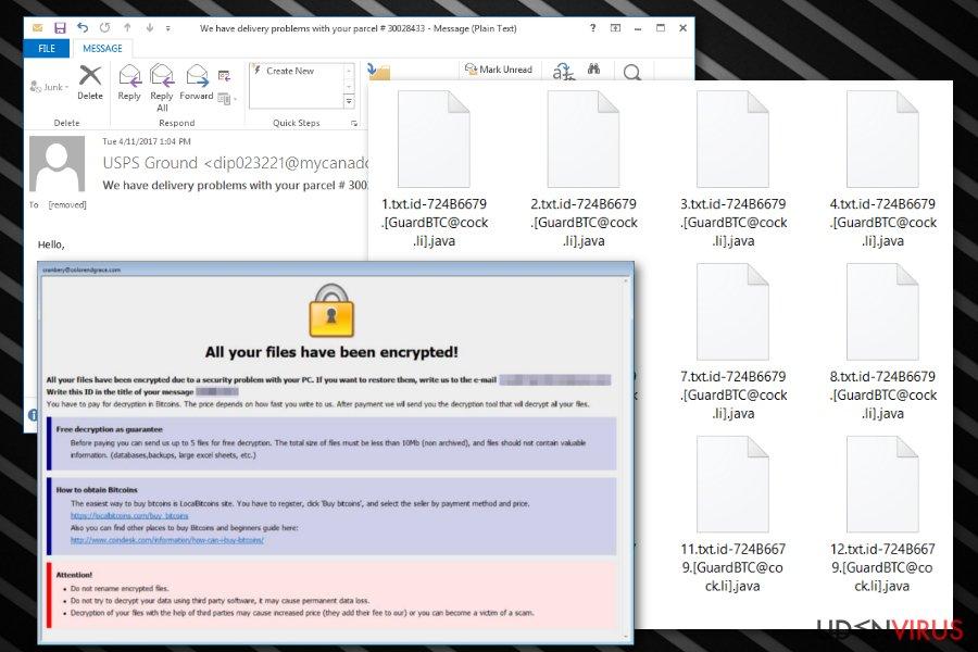 .java filudvidelsesransomware snapshot
