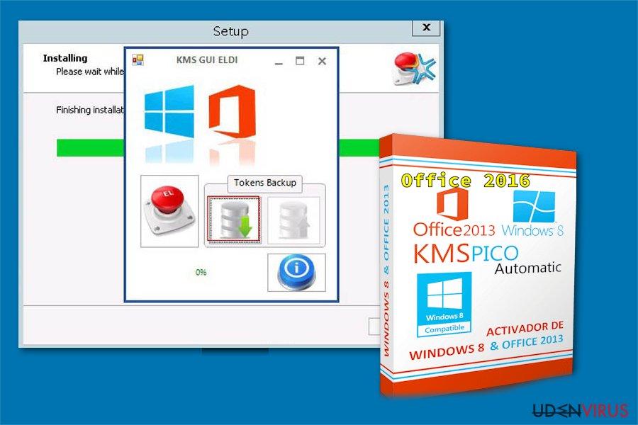 KMSPico hacking værktøj