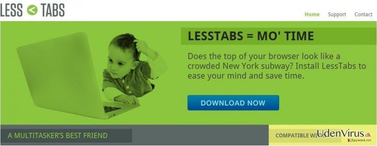 Less Tabs snapshot
