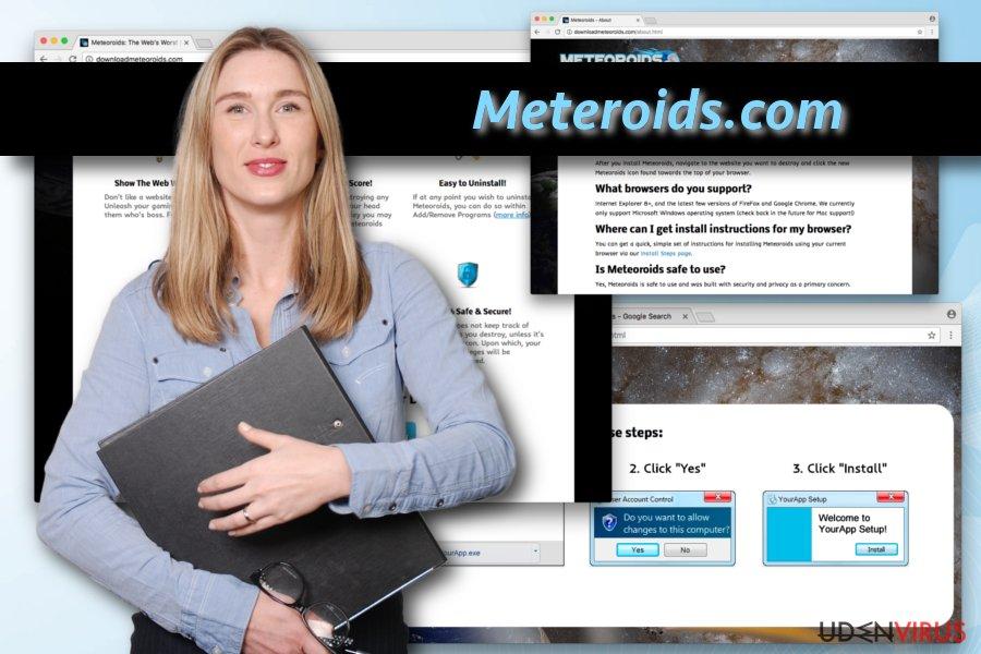Meteoroids virus snapshot