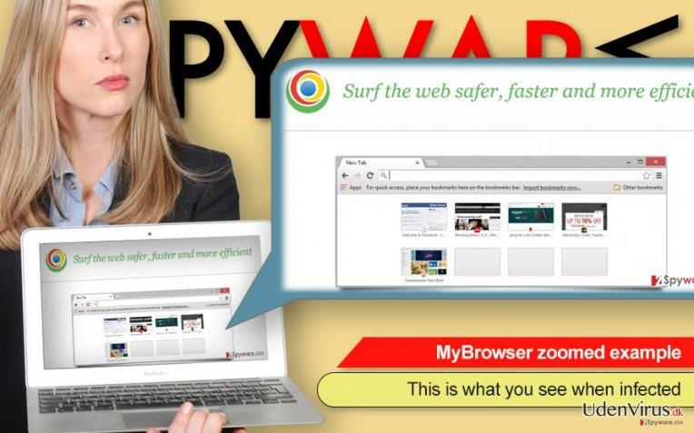 MyBrowser adware (virus)