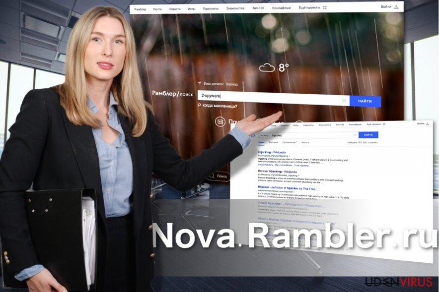 Nova Rambler opsukken