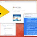 Safe Finder virus snapshot