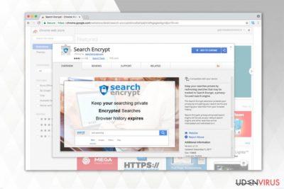 Search Encrypt billede