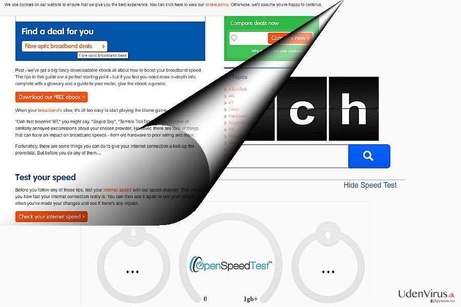 Skærmbilledet af search.searchgstt.com
