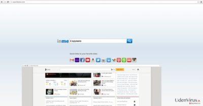 Skærmbilledet af searchinme.com