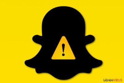 Snapchat virus billede