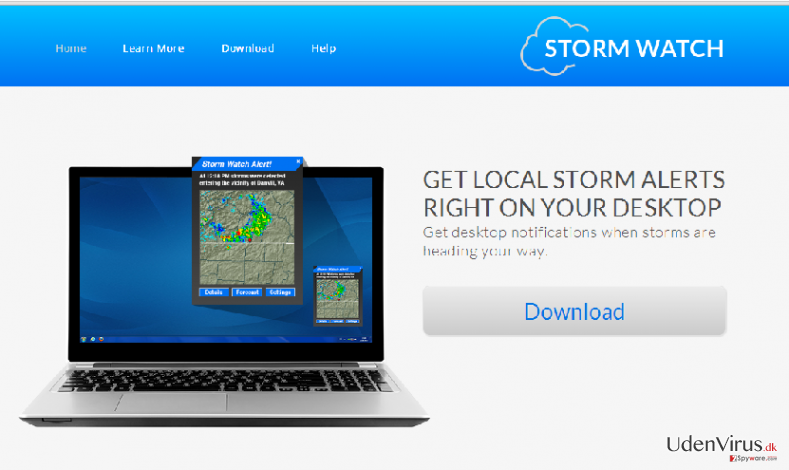 StormWatch ads snapshot