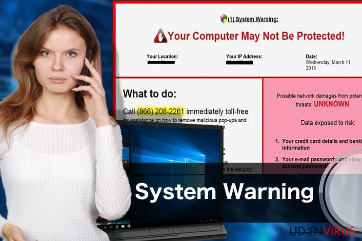 """System Warning"" Pop up"
