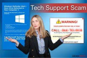 Tech Support Scam virus