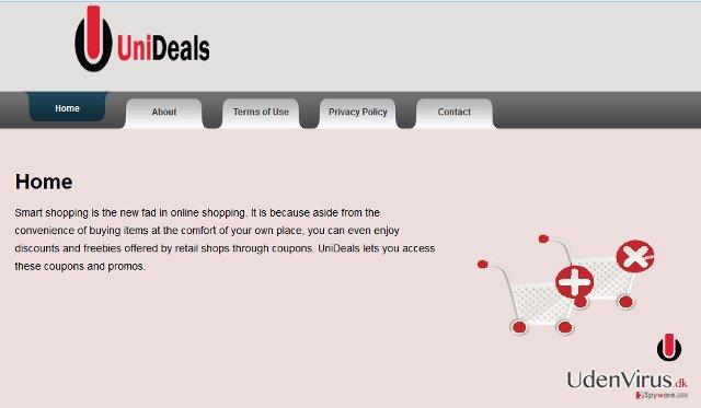 Annoncer fra UniDeals snapshot