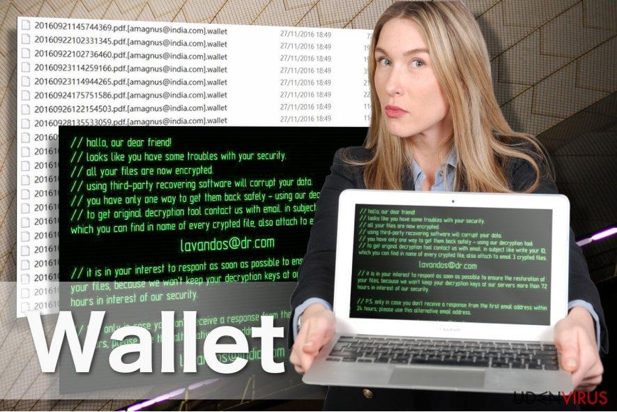 Wallet ransomware billede