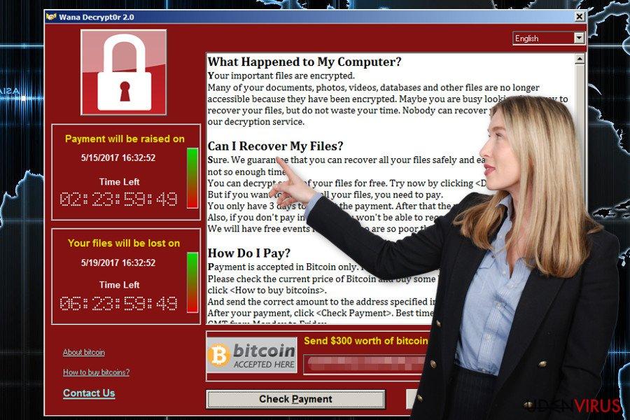 Wana Decrypt0r ransomware
