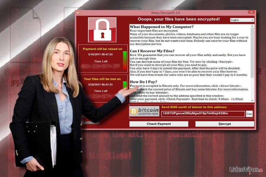 Wannacry 3.0 og WannaCry løsesumsnote