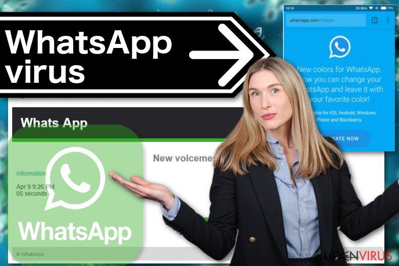 WhatsApp virusillustration