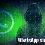 WhatsApp virus snapshot