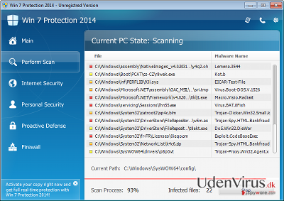 XP Protection 2014 snapshot