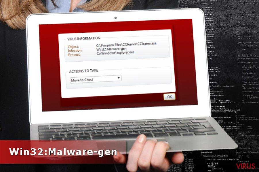 Win32:Malware-gen detektion