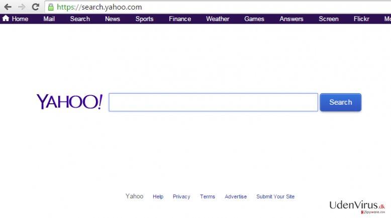 Yahoo Community SmartBar snapshot