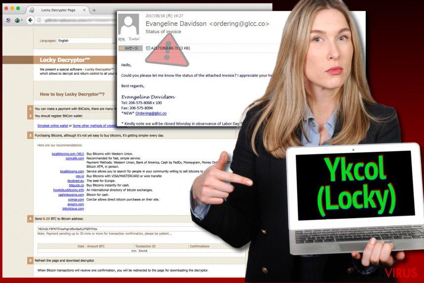 Locky virus kalder nu sig selv Ykcol