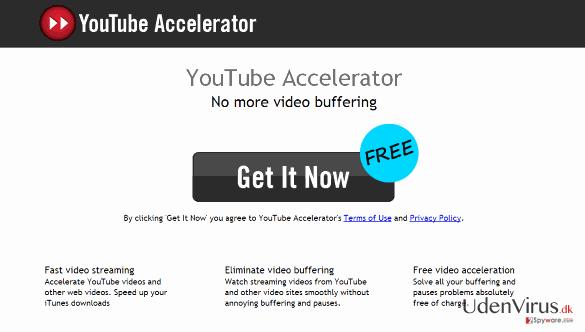 Youtube Accelerator snapshot